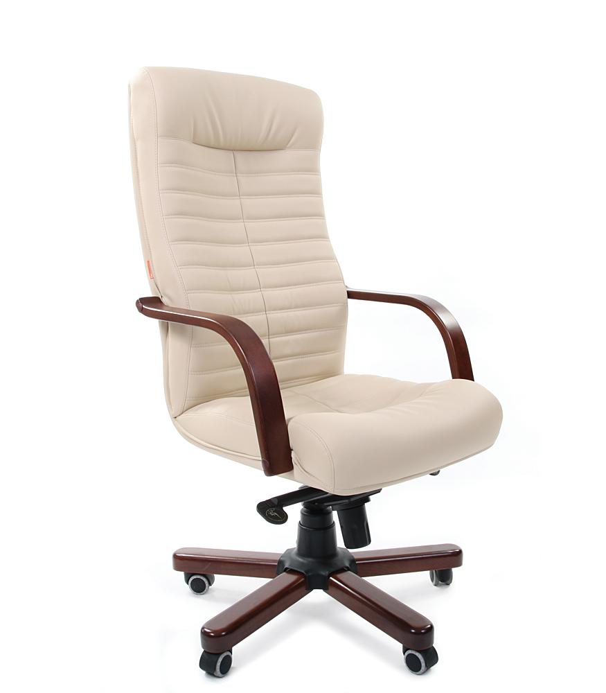 Кресло CHAIRMAN 480 WD /экокожа бежевая