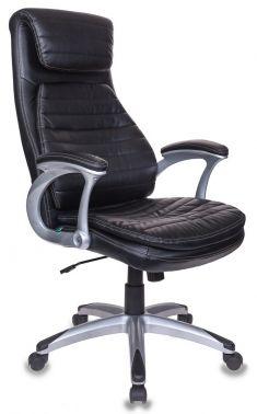 Кресло руководителя Бюрократ T-9902/BLACK черный искусственная кожа