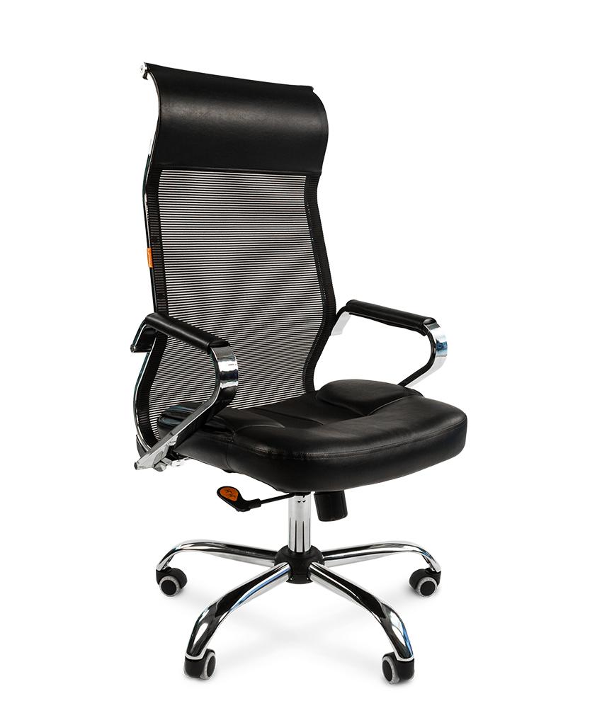 Кресло CHAIRMAN 700 сетка черная