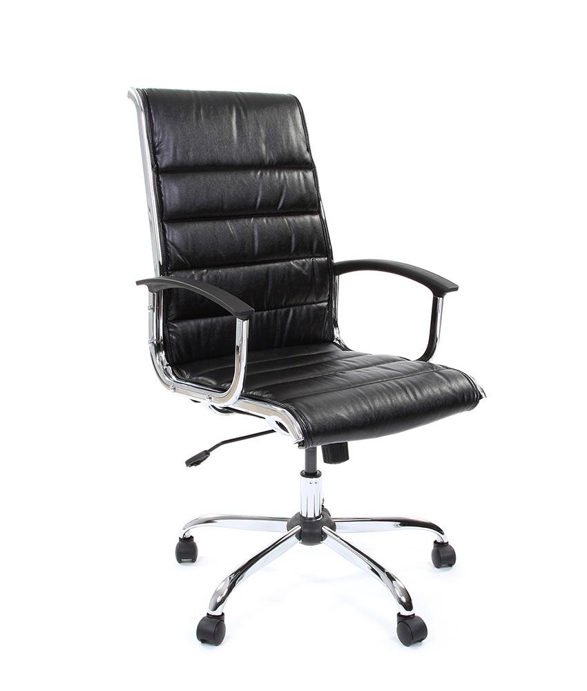 Кресло CHAIRMAN 760/экокожа черная