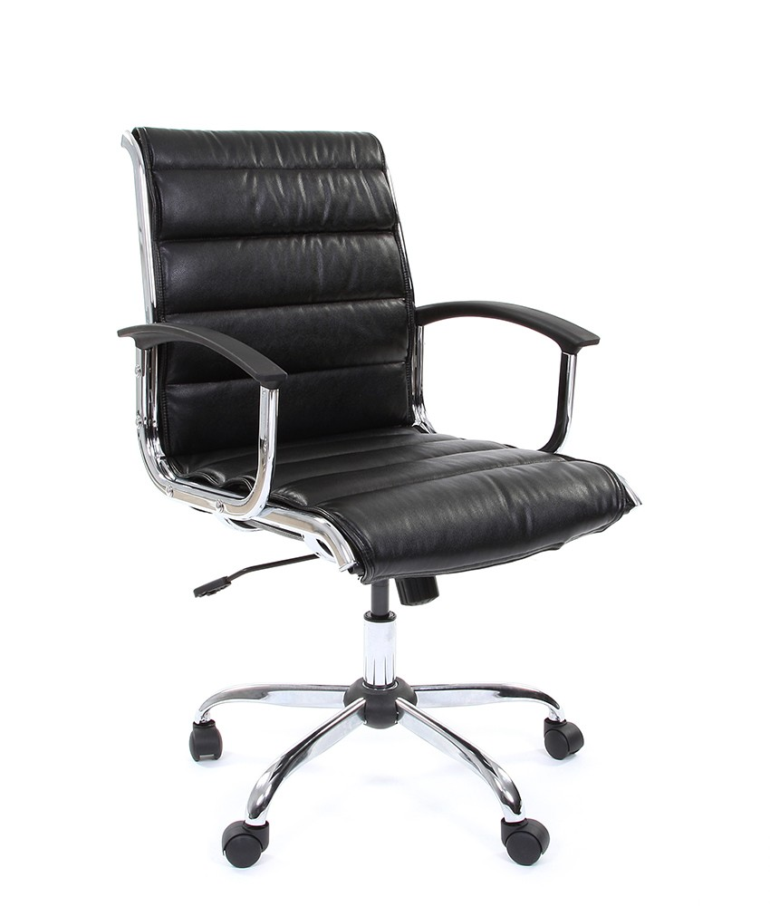 Кресло CHAIRMAN 460 M/экокожа черная