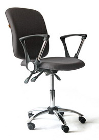 купить кресло офисное CH 9801 хром, Кресла оператора