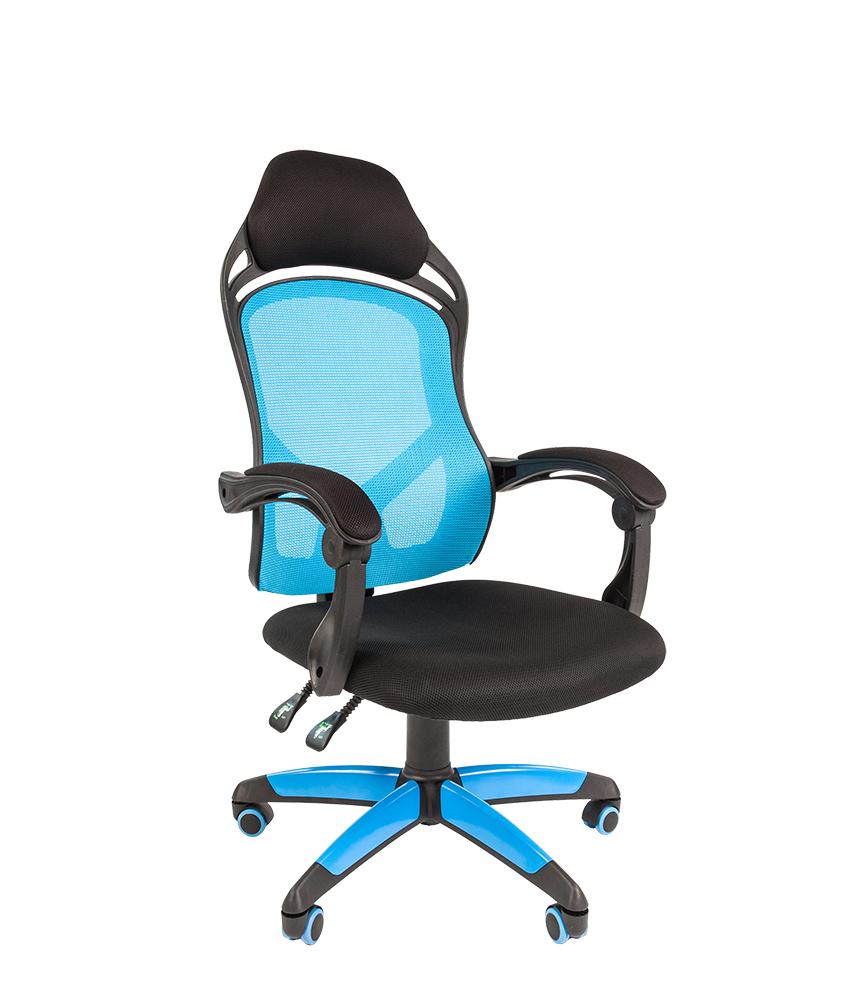 Кресло CHAIRMAN GAME 12/синее