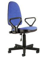 Офисное кресло Prestige GTR RU синего цвета