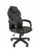 Кресло CHAIRMAN 299 черная экокожа