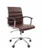 Кресло CHAIRMAN 460 M/экокожа коричневая