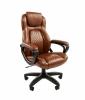 Кресло CHAIRMAN 432 /экокожа коричневая