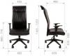 Кресло CHAIRMAN 510 размерная схема