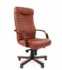 Кресло CHAIRMAN 480 WD /экокожа коричневая