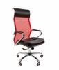Кресло CHAIRMAN 700 сетка красная