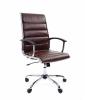 Кресло CHAIRMAN 760/экокожа коричневая