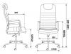 Кресло KB-9N/ECO_размеры