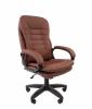 Кресло CHAIRMAN 795 LT/экокожа коричневая